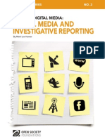 Digital Media Investigative Reporting 20110526