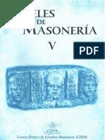 Papeles de Masonería V