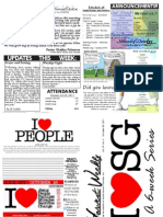 WHM Weekly Newsletter - 30 October 2011