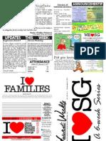 WHM Weekly Newsletter - 6 November 2011