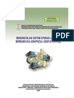 Menginstalasi Sistem Operasi Jaringan Berbasis Gui