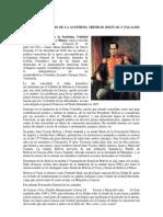 BIOGRAFÍAS DE simon bolivar, jose l. chirinos, francisco de mirandfa