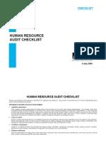P_hr Audit Check List_GOOD