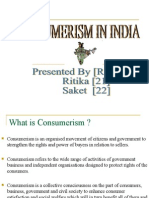 64071027 Consumerism in India PPT