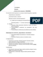 Tema 1.La Empresa y El Entorno.1.3.C)Proceso de Crecimiento de Las Empresas.