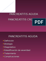 Pancreatitis Aguda y Cronica1