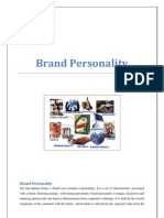 16669 Brand Personality