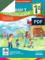 libro lenguaje 1er. año