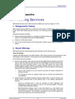 IBM Testing Services April 2010
