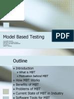 Model Based Testing