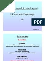 Anatomie Physiologie et Biomécanique pour le DIF, de D. Delagoutte