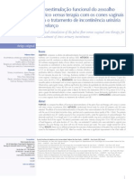 Eletroestimulação funcional do assoalho pélvico