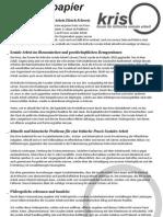 Positionspapier_Schweizer Forum Kritische Soziale Arbeit_Januar 2011