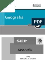 Plan Geografia