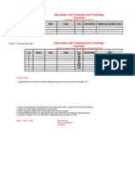 September Exam Result Format 2007 for Phase 1 and Phase 2 ICT Schools