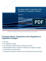 European Banks Implications From Basel III[1]