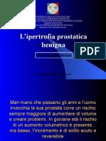 prostata lievemente disomogenea con lezione periferica di 10 mm de