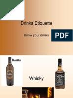 Drinks Etiquette