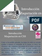 Hojas de Estilo CSS - Introduccion Maquetacion CSS