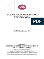 Solar Air Dryers in Food Proceesing