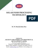 Solar Air Dryers in Food Proceesing