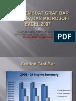 Cara Membuat Graf Bar Menggunakan Microsoft Excel 2007