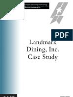 2005 Landmark Case Study