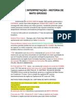RESUMO DE INTERPRETAÇÃO HISTORIA DE MATO GROSSO