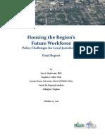 Housing the Regions Workforce Oct 2011