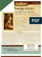The Praise Report November 2011