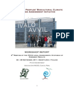IPCCA Finland Workshop Report