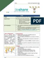 Slideshare-Guía de trabajo