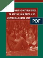 DIRECTORIO DE INSTITUCIONES DE APOYO PSICOLOGICO Y ASISTENCIA CONTRA ADICCIONES