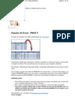 Funcoes Excel - Procv