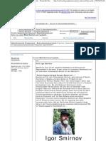 Strahlenfolter - Mind Control Auf Russisch - Prof. Igor Smirnov