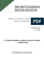 1.1.c. Politica Curricular