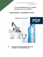 Agua Potable NMP