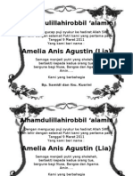 Alhamdulillahirobbilalamin