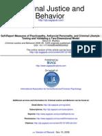 Criminal Justice and Behavior 2008 Walters 1459 83