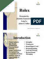 Pp Rolex Branding