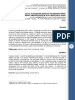 Psicologia Organizacional en Mexico