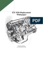BMW E21M20 How to stroke a six cilinder engine