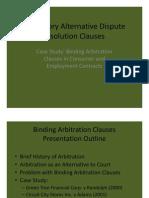 Mandatory ADR Clauses Presentation 2 [Compatibility Mode]
