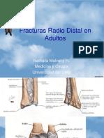 Fracturas Radio Distal