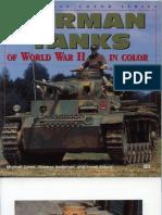 German Tanks of the World War II in Color