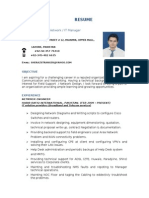 Sheraz CV for IT Manager