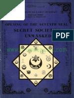 Secret Societies Unmasked