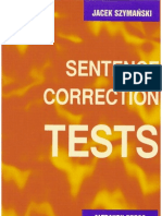 Sentence Corection Tests
