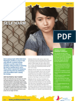 Youth - Managing Self Harm
