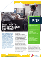 Youth - Treatments for Depression and Anxiety